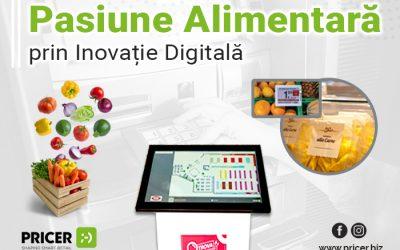 Pasiune alimentară prin inovație digitală