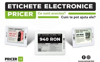Etichetele electronice Pricer – ce sunt și cum te ajută
